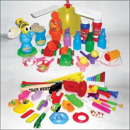 Whistle & Blow Toy Kits