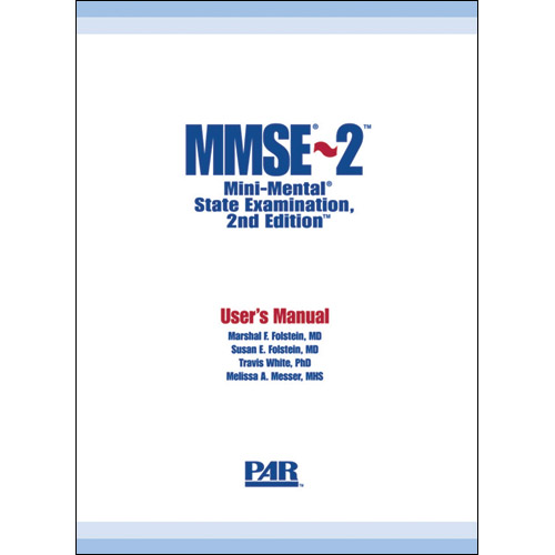 Mini-Mental State Examination 2nd Edition (MMSE-2)