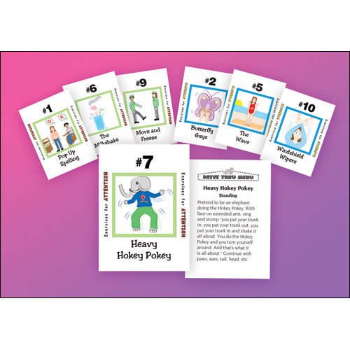 Attention and Strength Card Deck