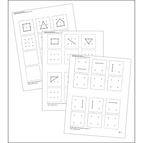 Developing Visual Motor Integration – Visual Motor Worksheets