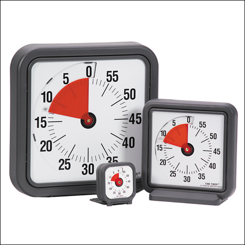 silent audible visual time timer