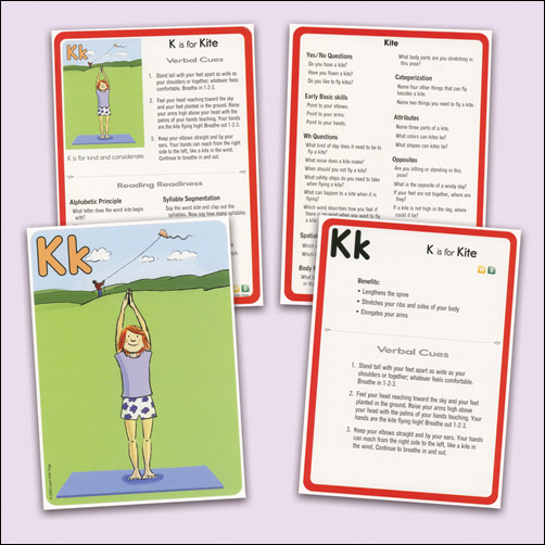 Learn With Yoga Abc Yoga Cards For Kids