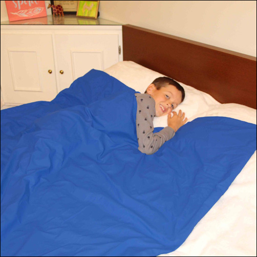 Wipe-Clean Weighted Blanket