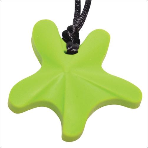 Chewable Starfish Pendant Chewie